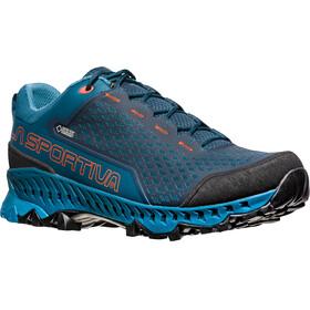 La Sportiva M's Spire GTX Shoes Ocean/Tangerine